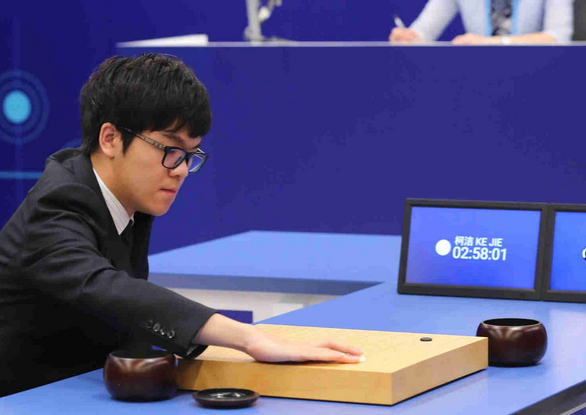 World's top weiqi player Ke Jie loses third match against AlphaGo