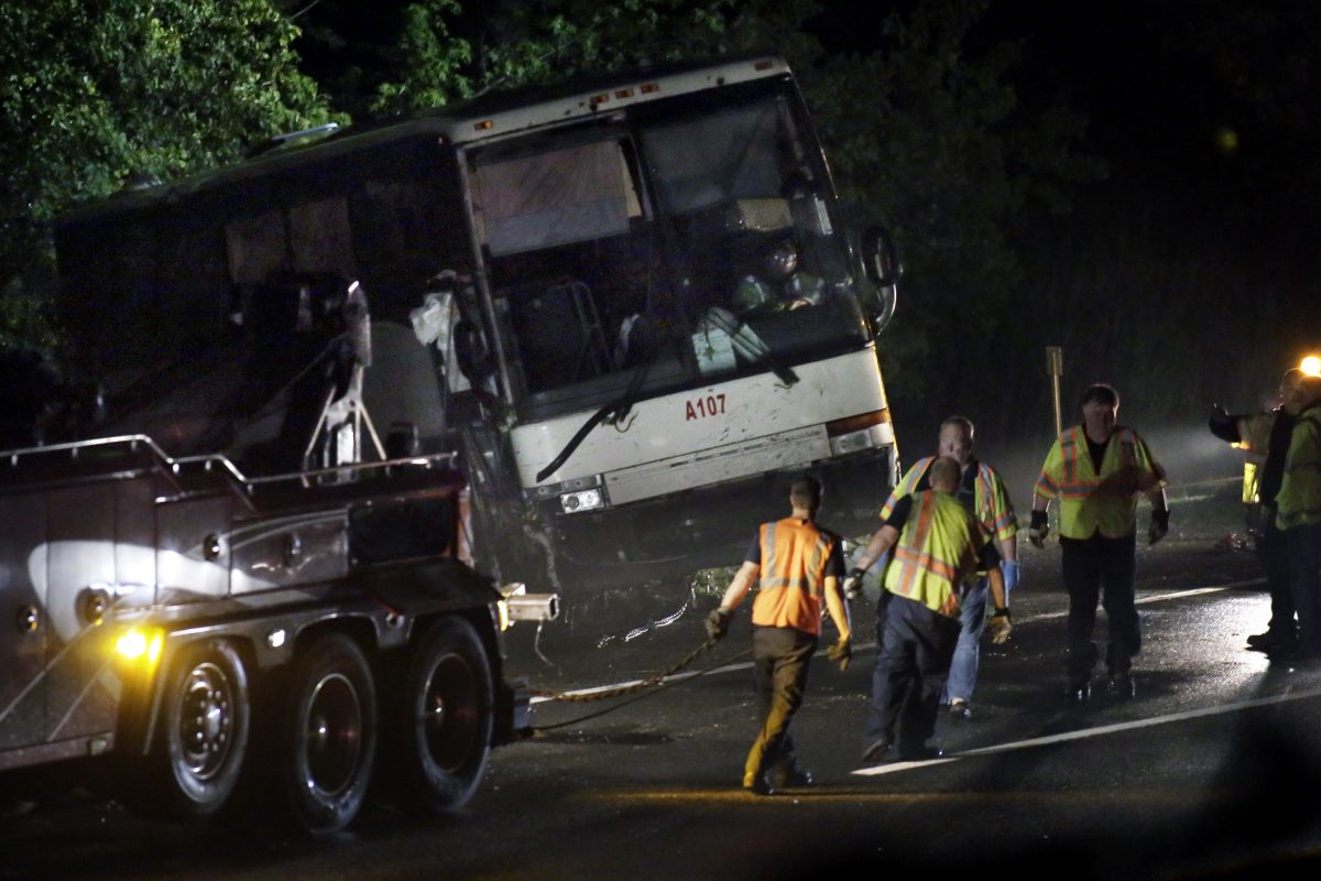 Bus overturn in Turkey's Ankara Province leaves 8 dead, 34 wounded