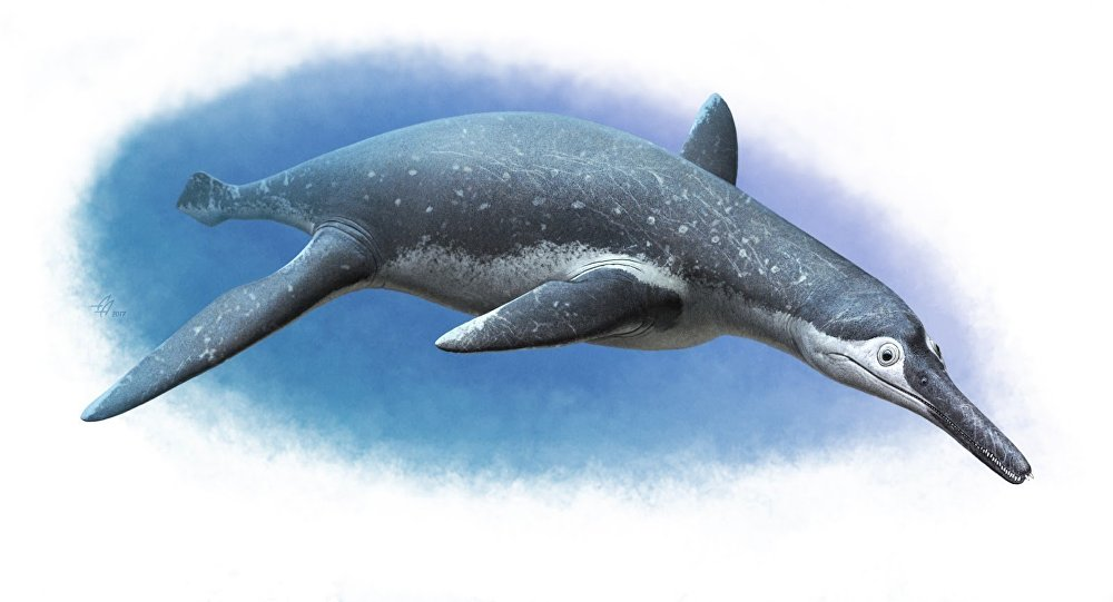 Gigantic prehistoric reptile's remains unearthed in Russia