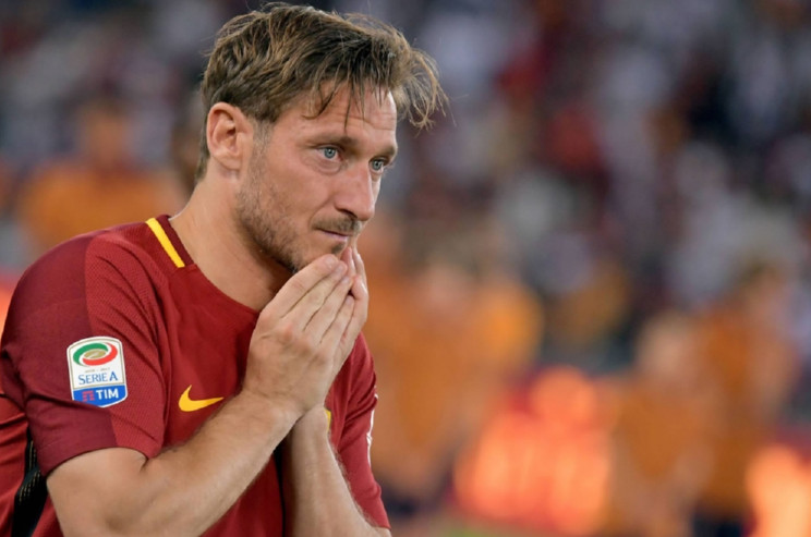 Tears flow as Italy legend Totti bids farewell to Roma after 25 years