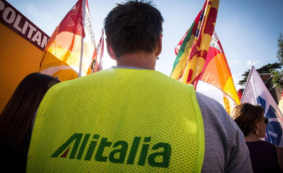 200 flights cancelled in Italy due to Alitalia strike