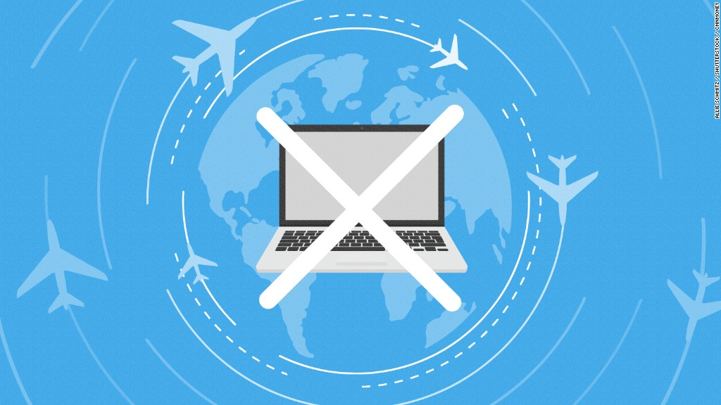 US official considers laptop ban on all international flights