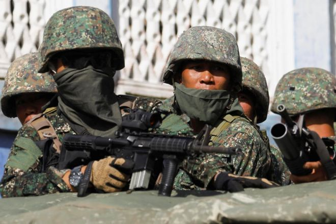 Philippine government to attain tactical victory in a few days' time