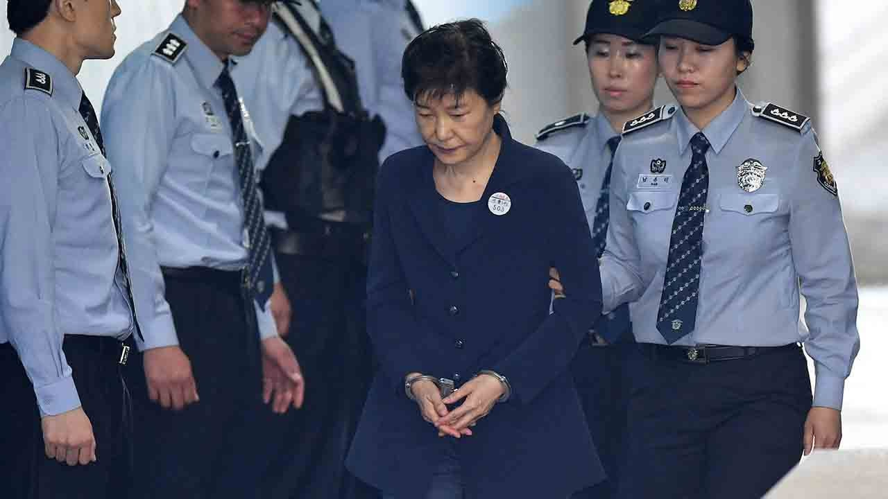 Ousted President Park Geun-hye attends third hearing