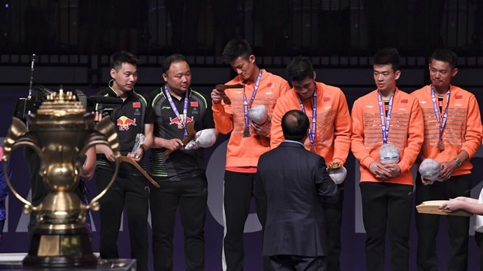 China's Sudirman Cup domination ended by South Korea