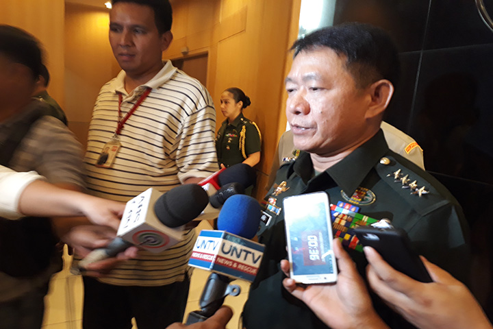 AFP Chief General Eduardo Ano: Abu Sayyaf leader Hapilon still in Marawi