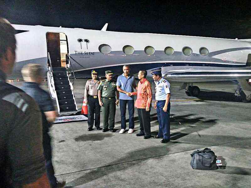 Obama kicks off his Indonesian tour