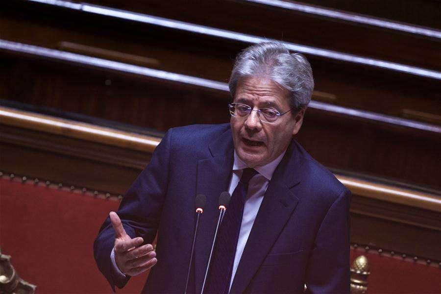 Italy's Gentiloni vows to pressure Trump on climate at G20