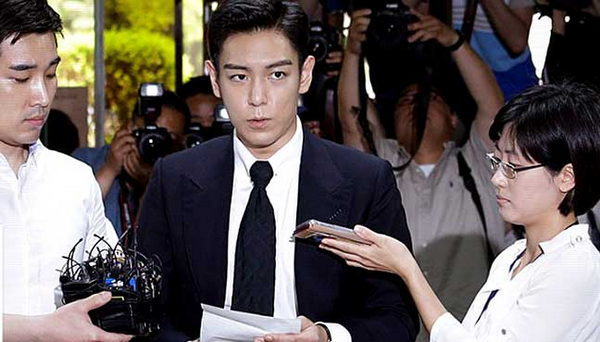 S. Korean rapper T.O.P gets suspended sentence for drug use