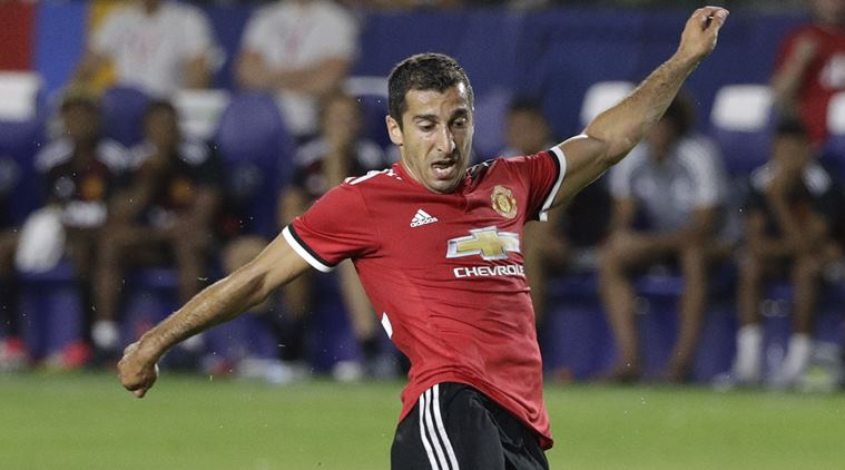 Henrikh Mkhitaryan eager to help Manchester United's new boys settle in