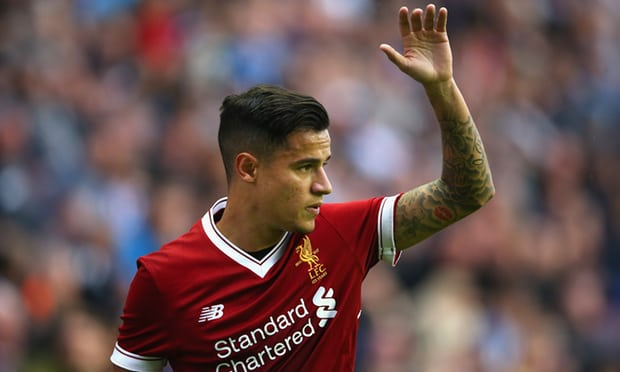 Liverpool reject £72m Barcelona bid for Philippe Coutinho
