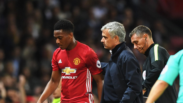 Jose Mourinho challenges Anthony Martial to be more consistent