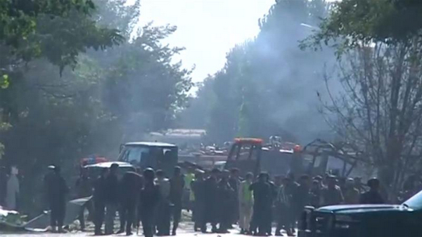 At least 20 killed in Kabul suicide car bombing